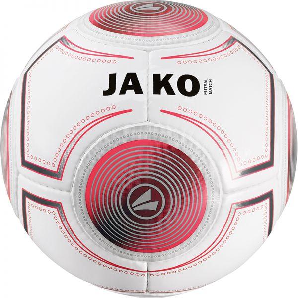 JAKO Spielball Futsal weiß/anthrazit/flame-420g Gr.4