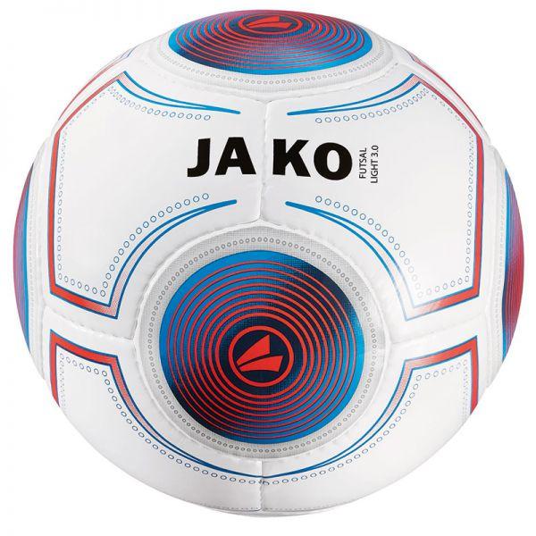 JAKO Ball Futsal Light 3.0 weiß/JAKO blau/flame-360g Gr.4