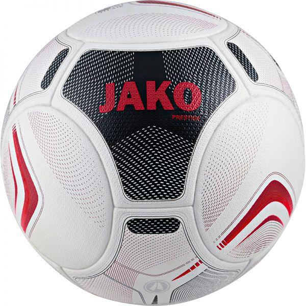 JAKO Spielball Prestige weiß/schwarz/rot Gr.5