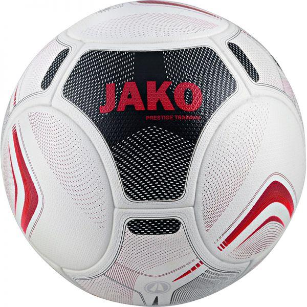 JAKO Trainingsball Prestige weiß/schwarz/rot Gr.4