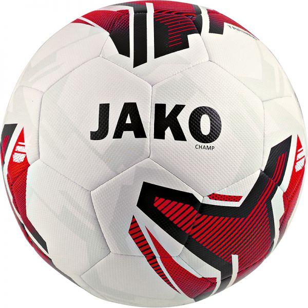 JAKO Trainingsball Champ weiß/rot/schwarz Gr.4