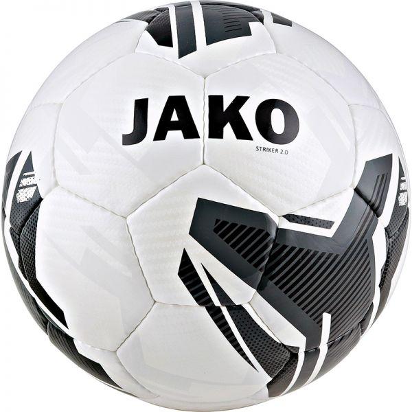 JAKO Trainingsball Striker 2.0 weiß/anthrazit Gr.5