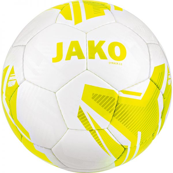 JAKO Lightball Striker 2.0 MS weiß/lemon-290g Gr.3
