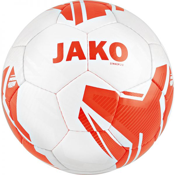 JAKO Lightball Striker 2.0 MS weiß/flame-290g Gr.5